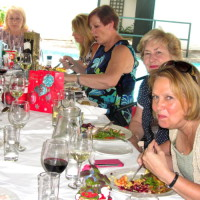 Bridge Xmas lunch – Julie and others
