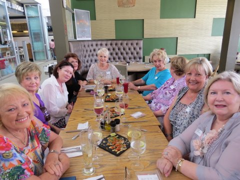 Lunch Bunch  group at Green Peppercorn  at Morningside Shopping Centre
