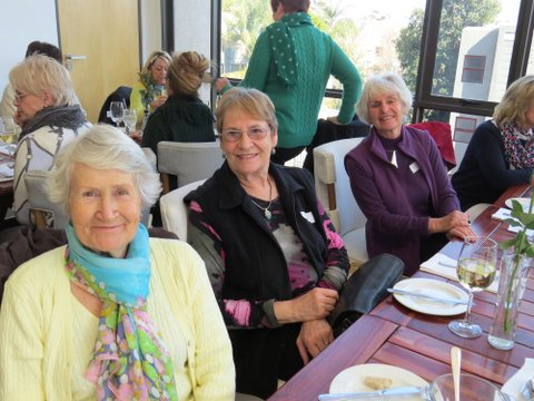Lunch Bunch at the Codfather, June 2015