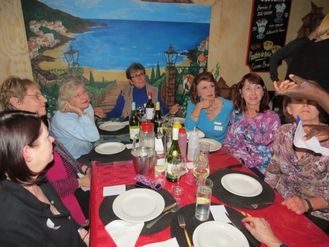Lunch Bunch at J's Diner, Blairgowrie