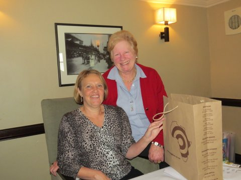 Julie's farewell with the Board and MahJong group