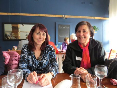 Lunch Bunch at A la Bouffe in Linden