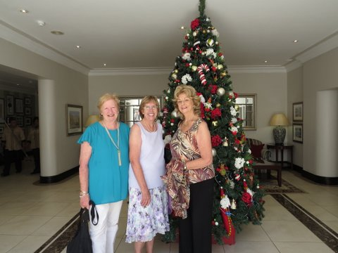 The Mah Jong Christmas Party at the Johannesburg Country Club