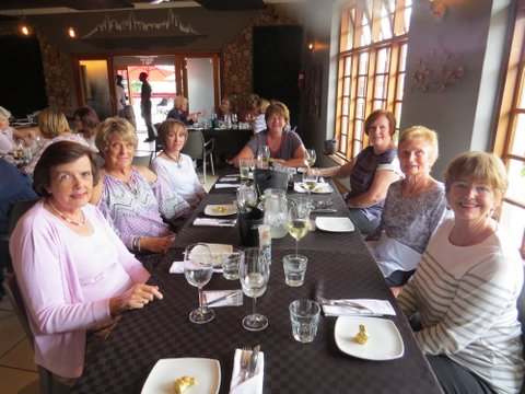 Lunch Bunch at LBV Bistro in Cramerview Centre