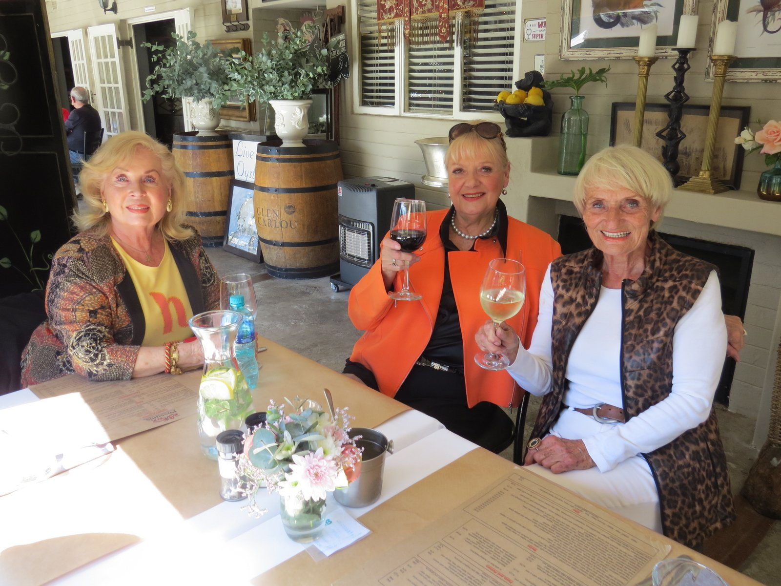 Lunch Bunch in May – fabulous food and great company at Possums